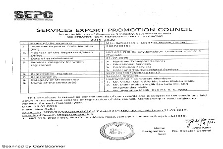 Membership Service Export Promotion Council